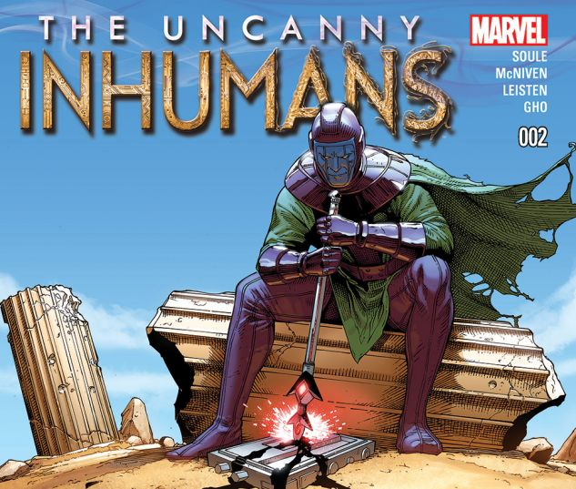 UNCANNY INHUMANS 2 (WITH DIGITAL CODE)