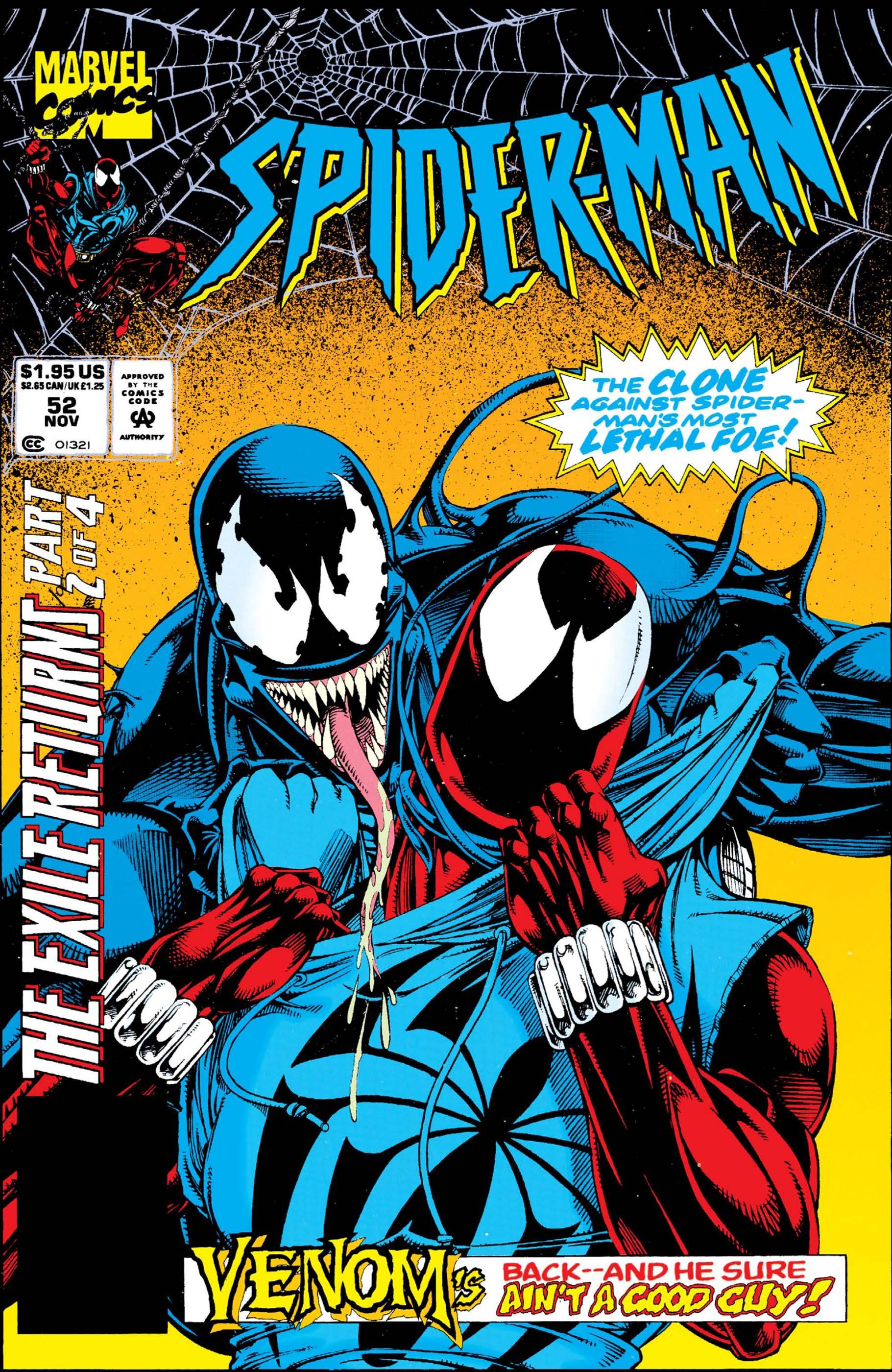 Spider-Man (1990) #52