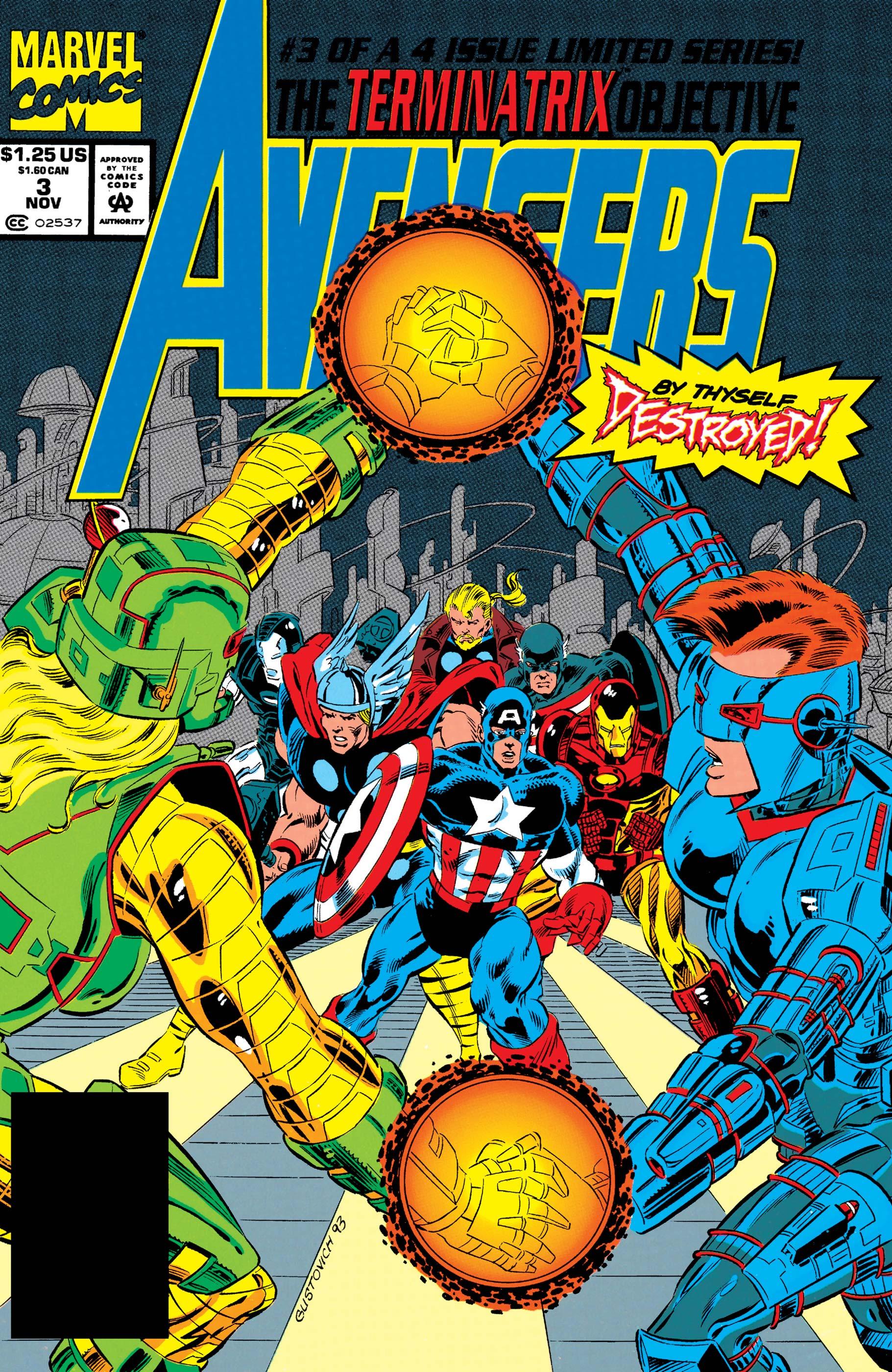 Avengers: The Terminatrix Objective (1993) #3