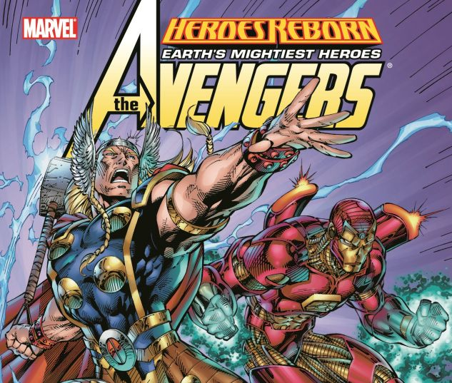 HEROES REBORN: AVENGERS 0 cover