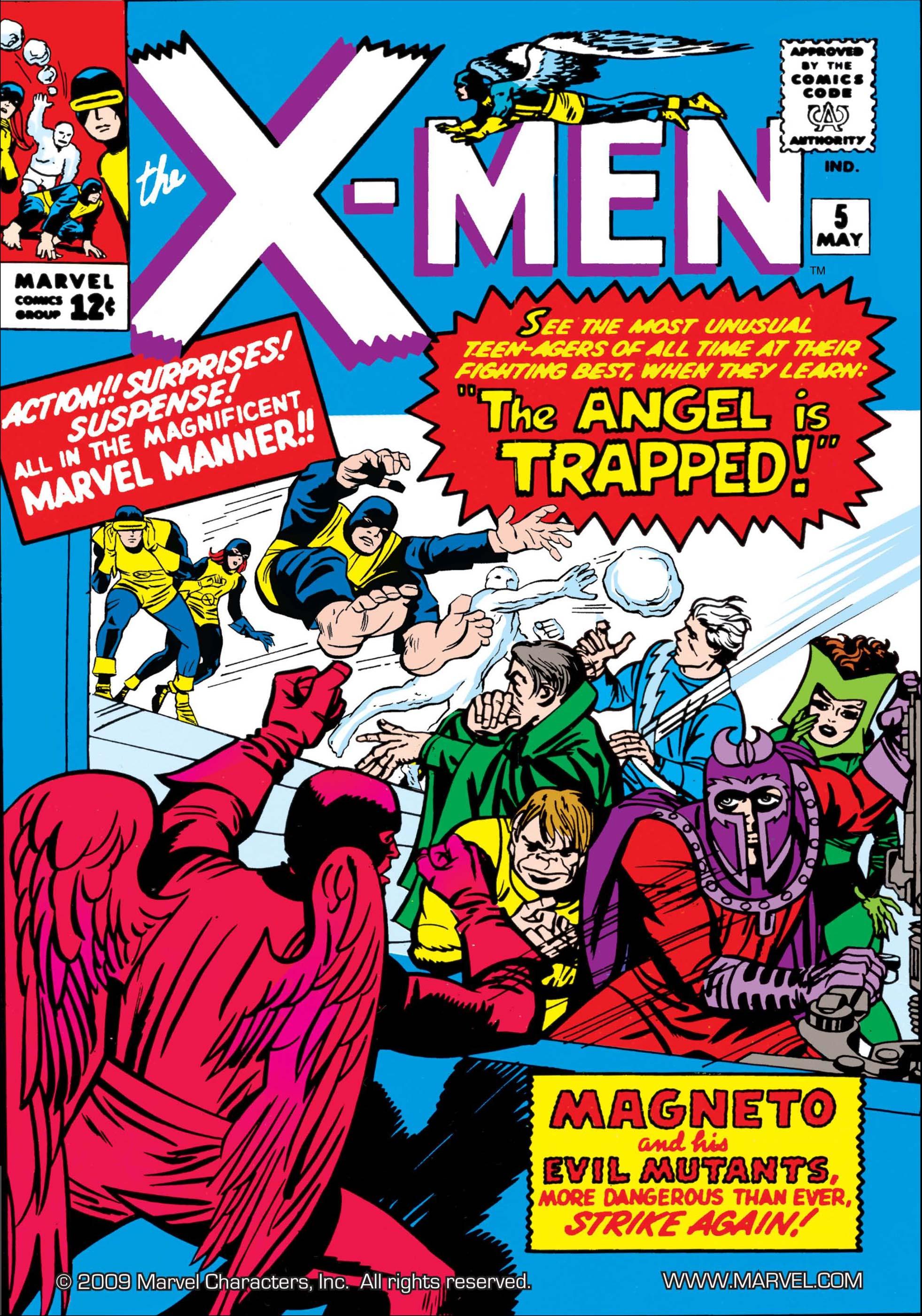 Uncanny X-Men (1963) #5