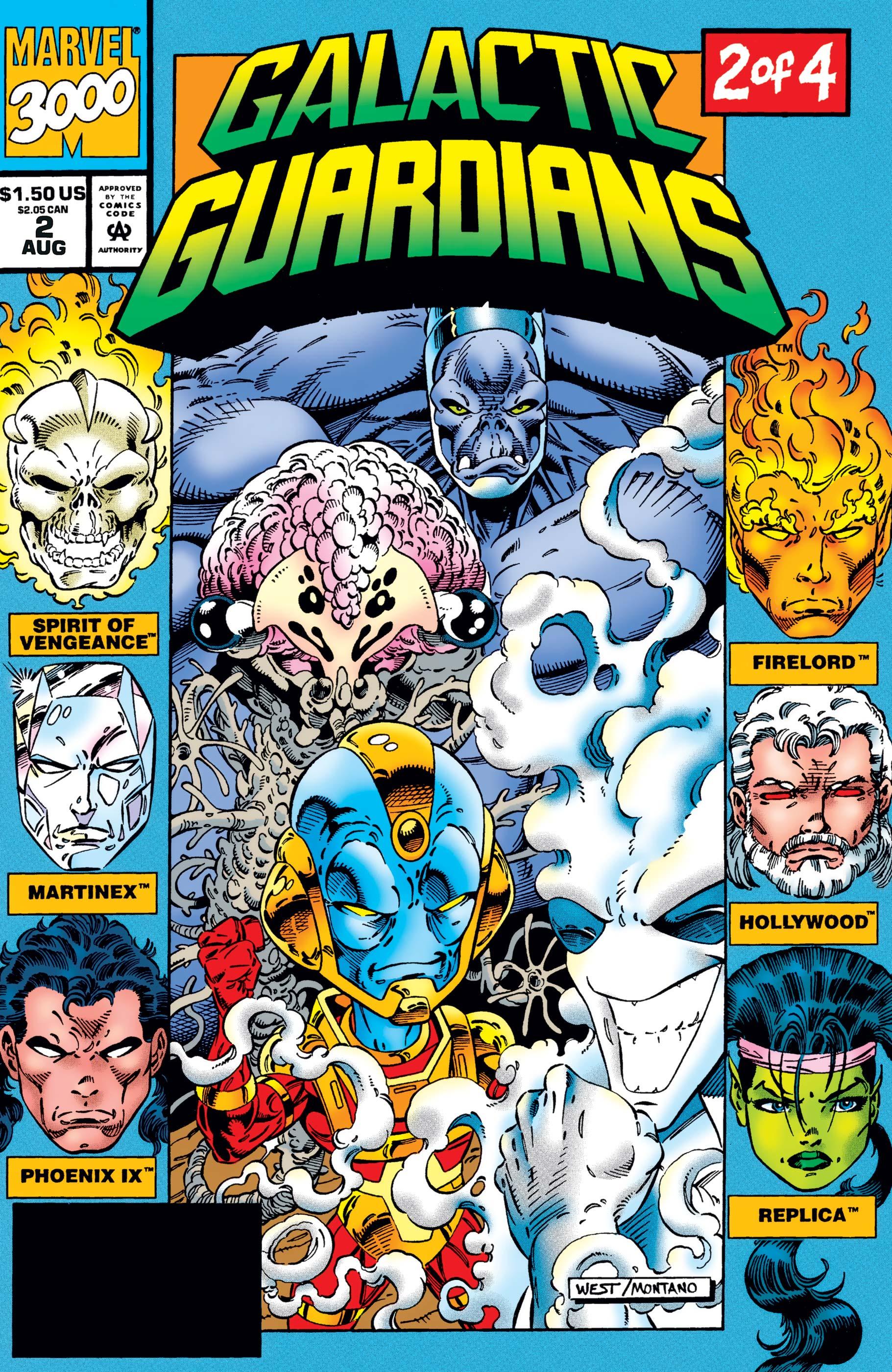 Galactic Guardians (1994) #2