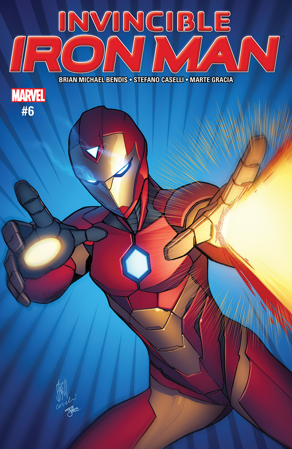 Invincible Iron Man (2016) #6