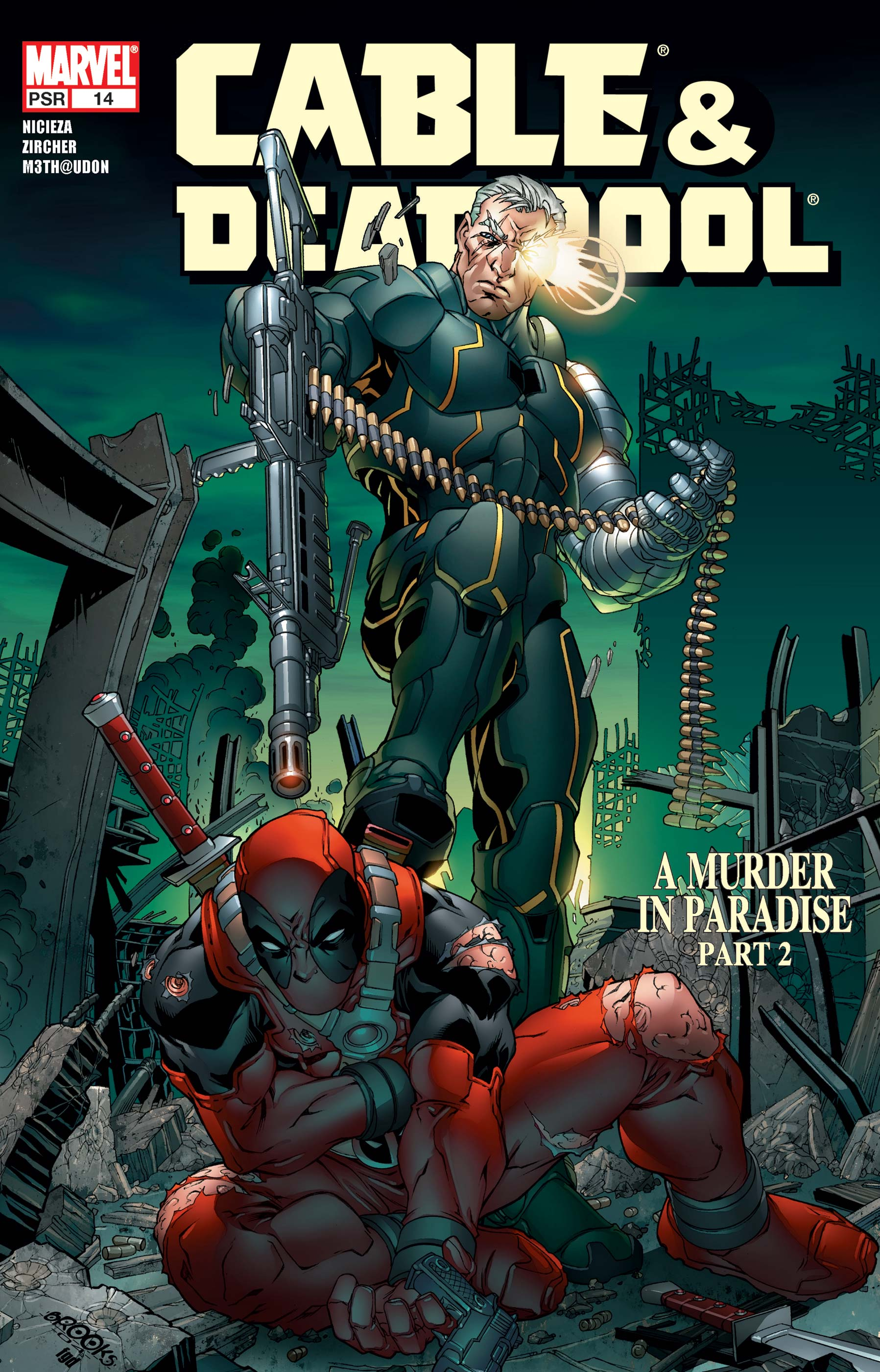 Cable & Deadpool (2004) #14