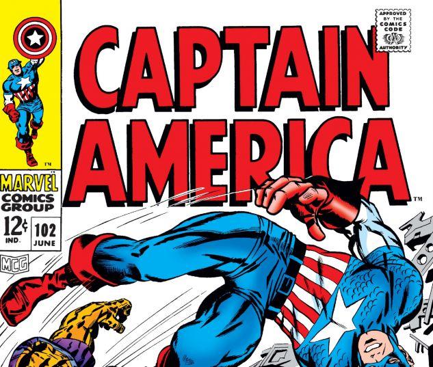 Captain America (1968) #102