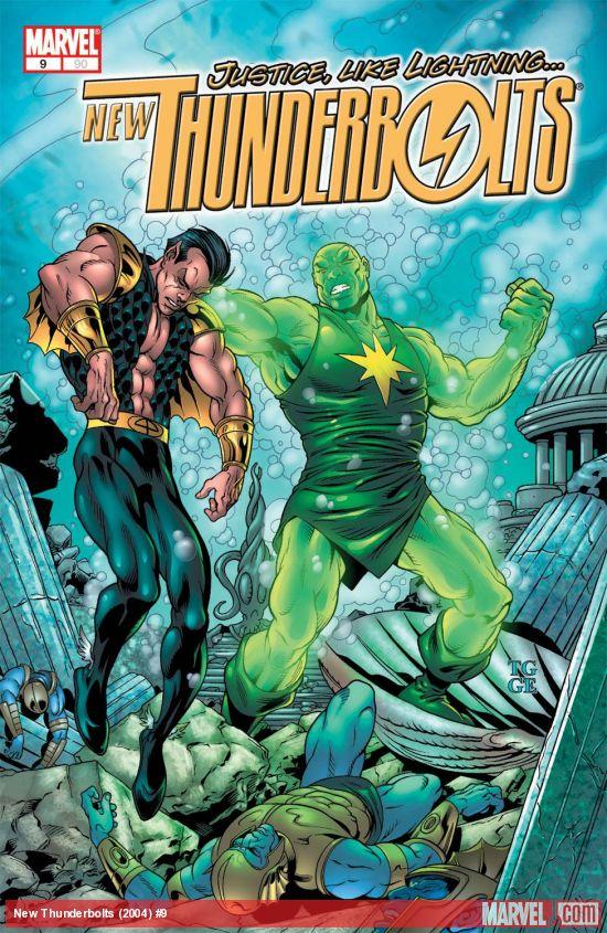 New Thunderbolts (2004) #9