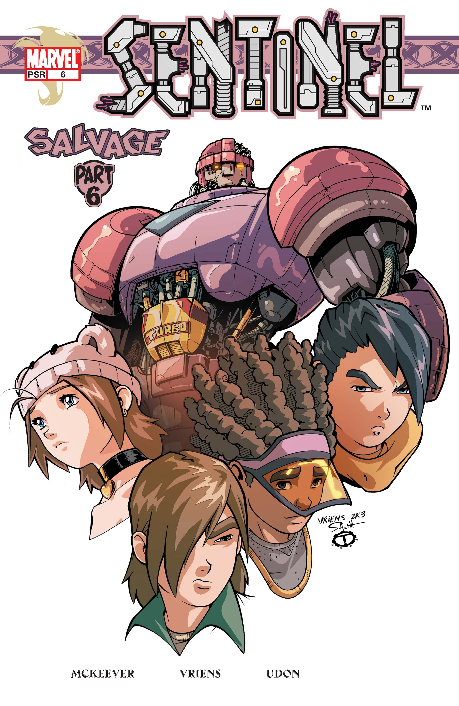 Sentinel (2003) #6