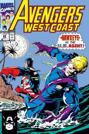 West Coast Avengers (1985) #69
