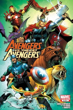 Avengers Vs. Pet Avengers #4