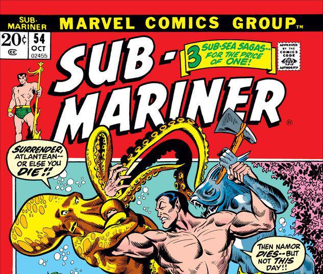 Sub-Mariner #54