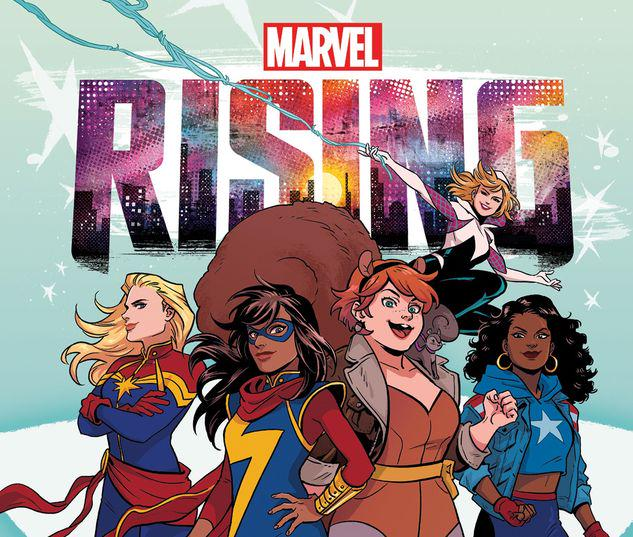 MARVEL RISING: HEROES OF THE ROUND TABLE GN-TPB #1