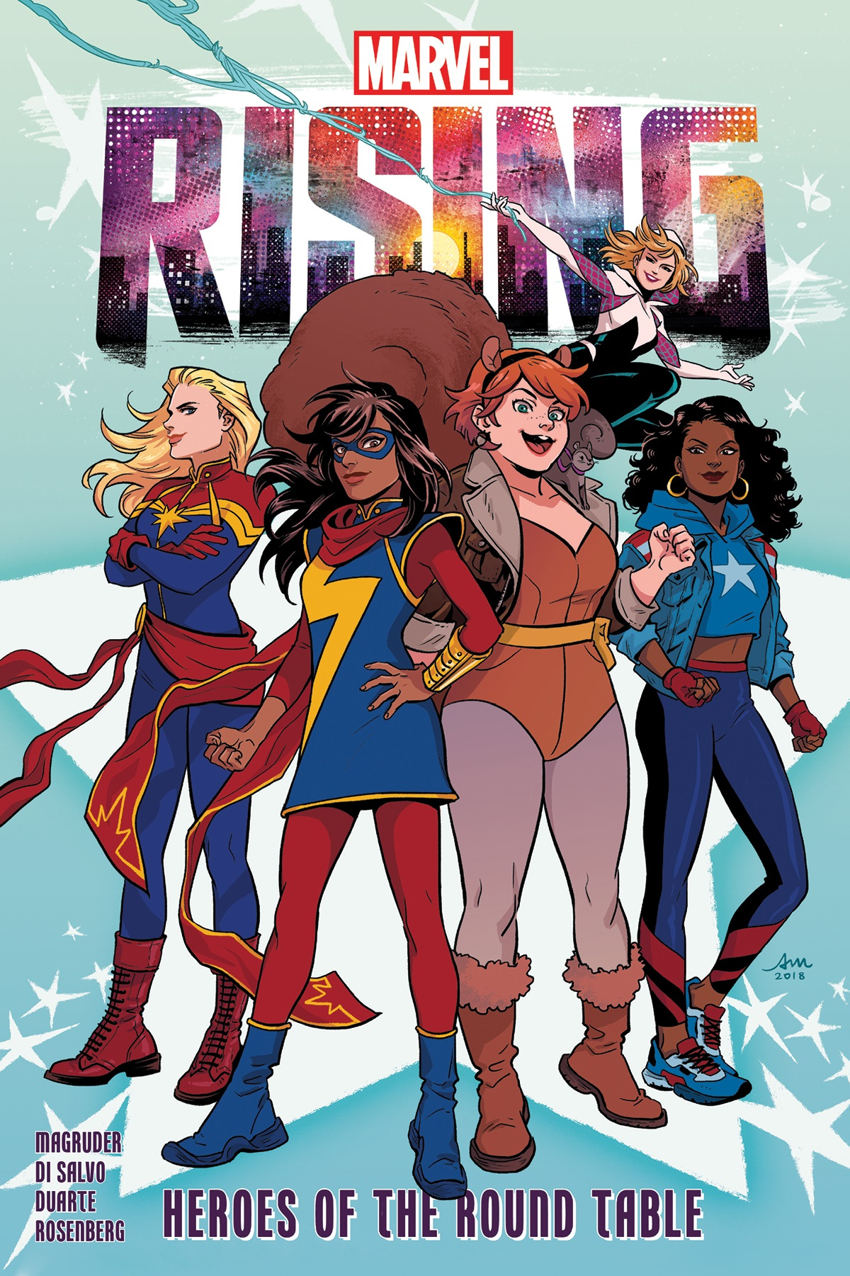 Marvel Rising: Heroes Of The Round Table (Trade Paperback)