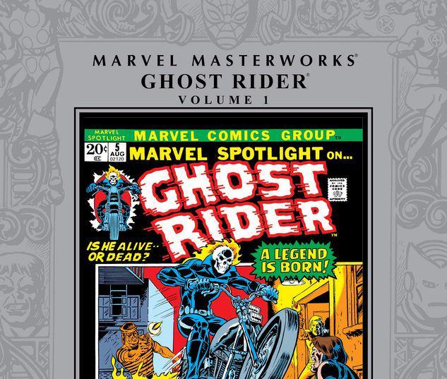 MARVEL MASTERWORKS: GHOST RIDER VOL. 1 HC #1