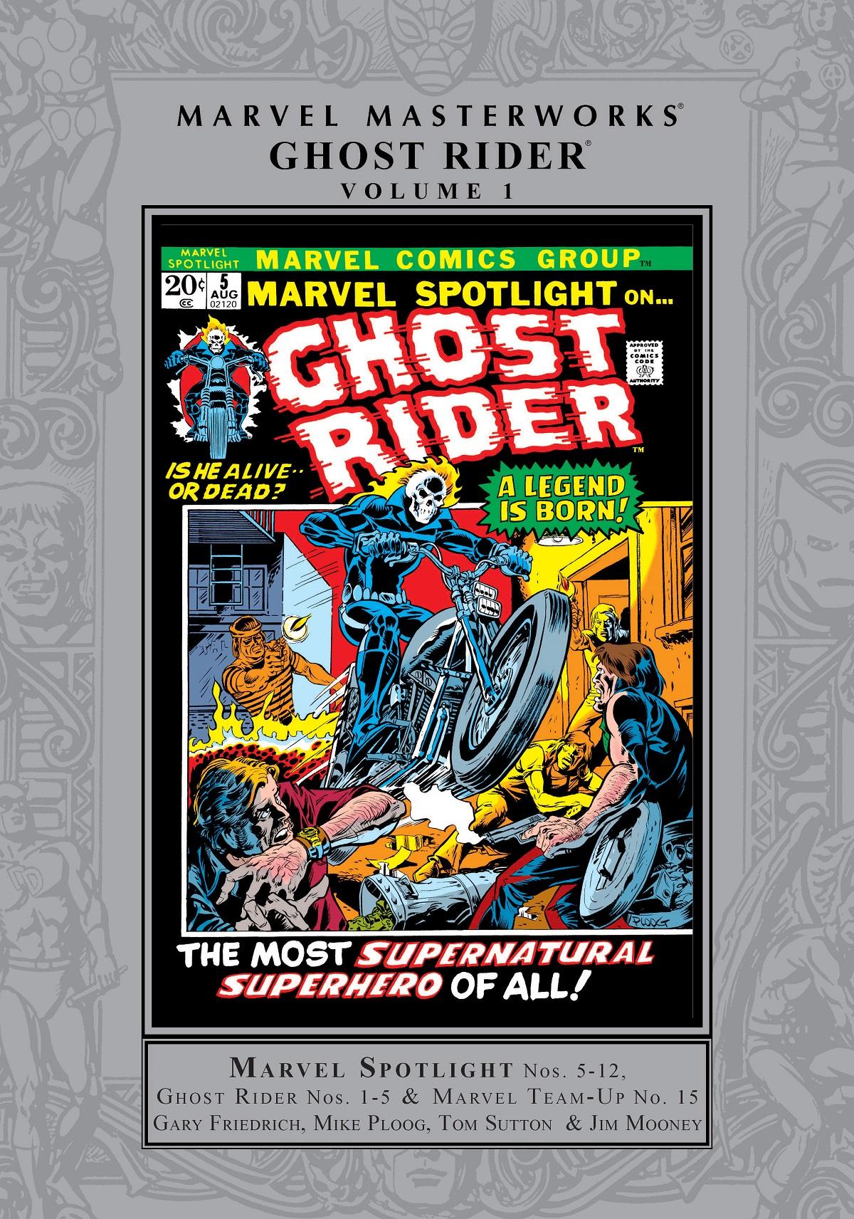 Marvel Masterworks: Ghost Rider Vol. 1 (Hardcover)