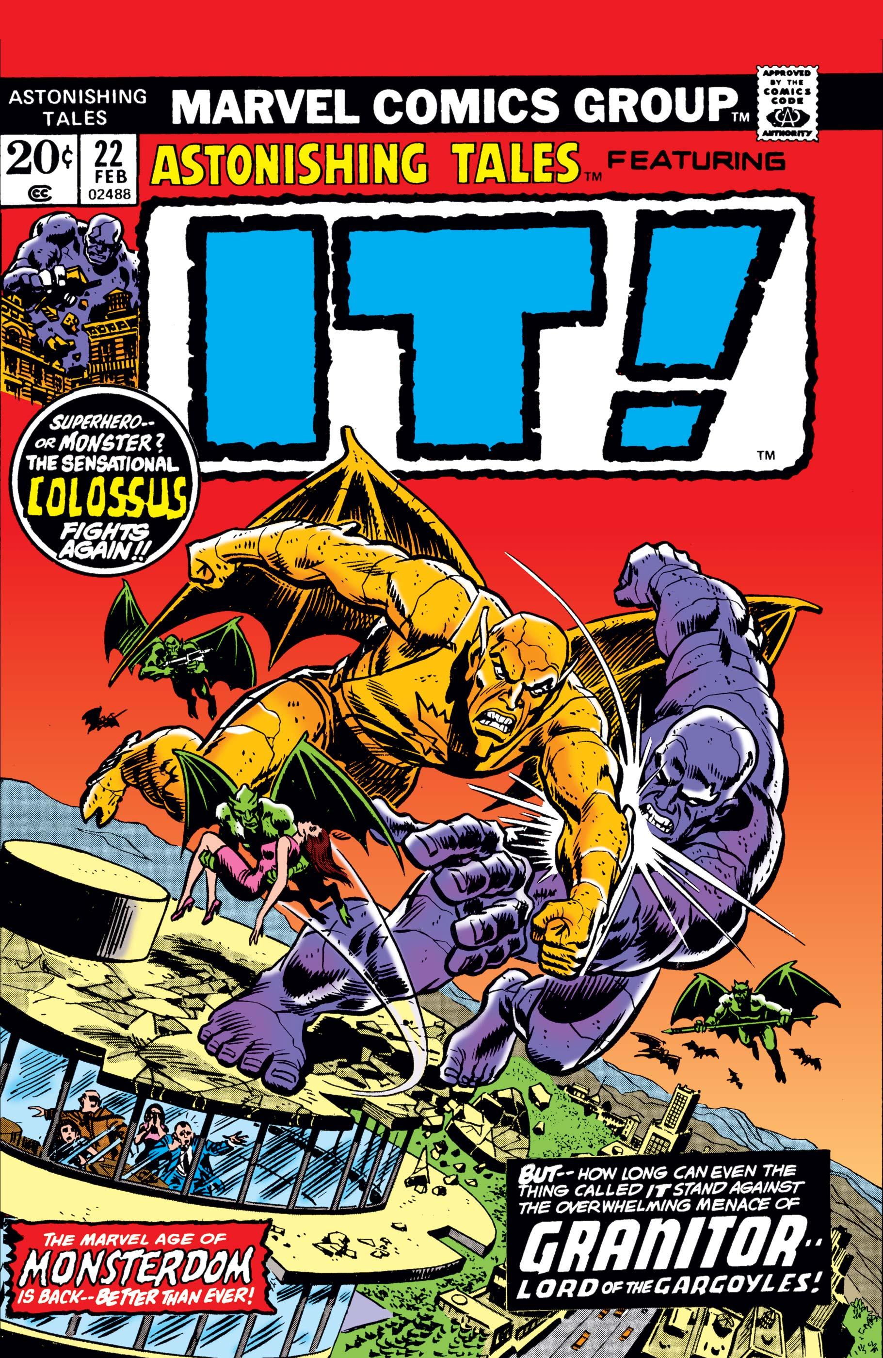 Astonishing Tales (1970) #22