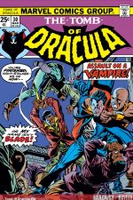 Tomb of Dracula (1972) #30 cover