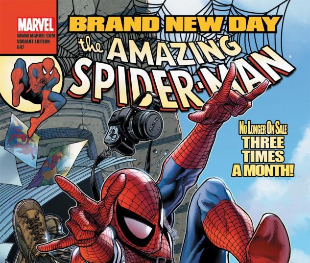Amazing Spider-Man (1999) #647, MCNIVEN VARIANT
