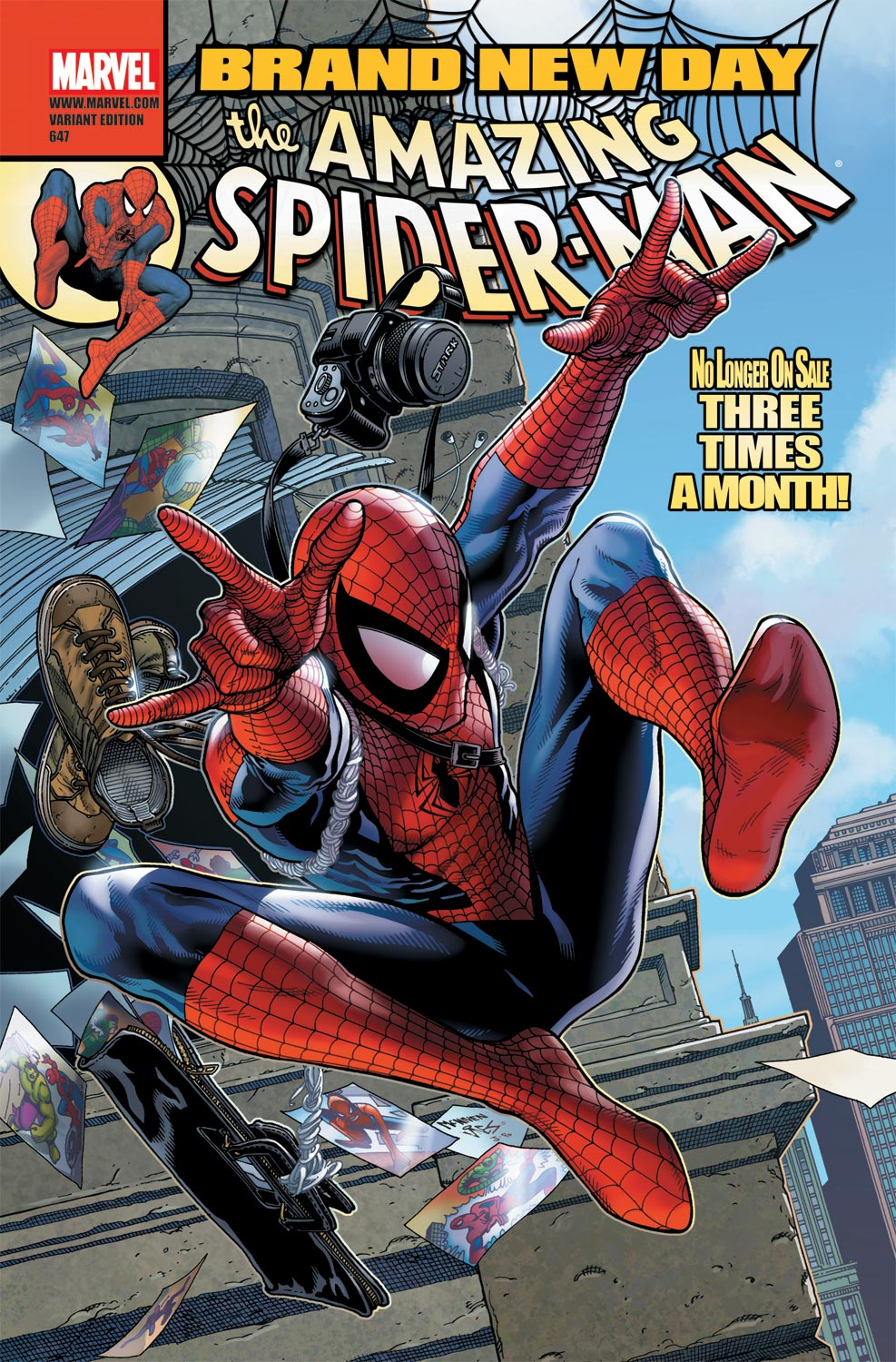 Amazing Spider-Man (1999) #647 (MCNIVEN VARIANT)
