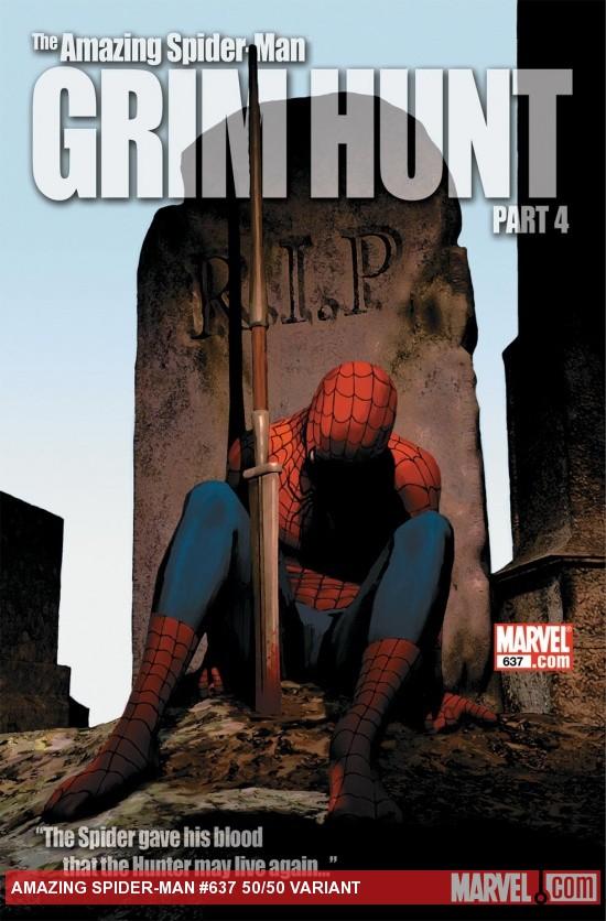 Amazing Spider-Man (1999) #637 (50/50 VARIANT)