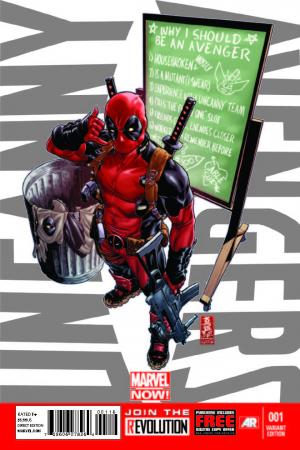 Uncanny Avengers (2012) #1 (Deadpool Call Me Maybe Variant)