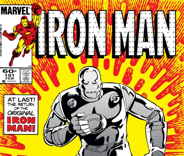 Iron Man (1968) #191 Cover