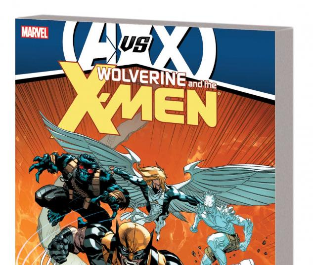 WOLVERINE & THE X-MEN BY JASON AARON VOL. 4 TPB (AVX, COMBO)