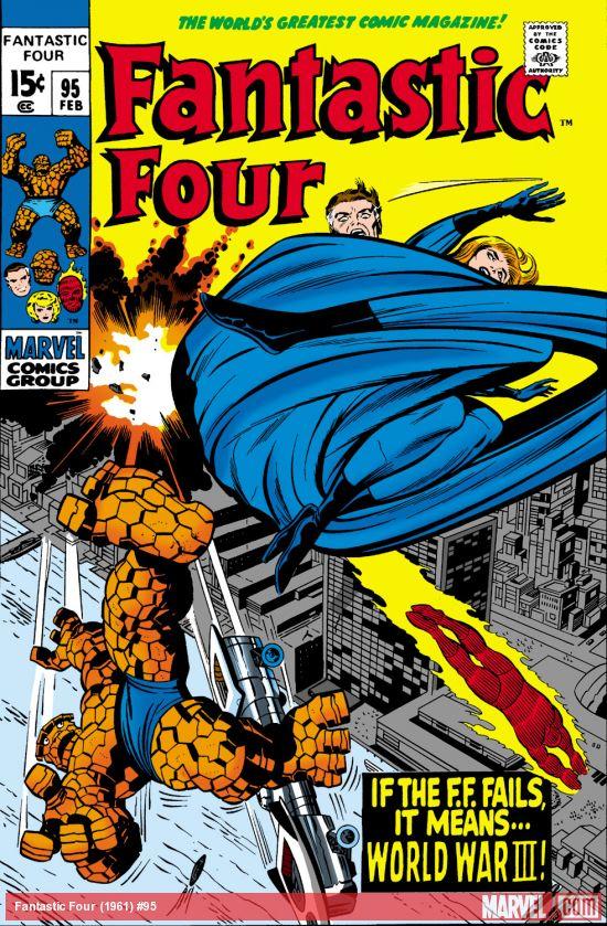 Fantastic Four (1961) #95