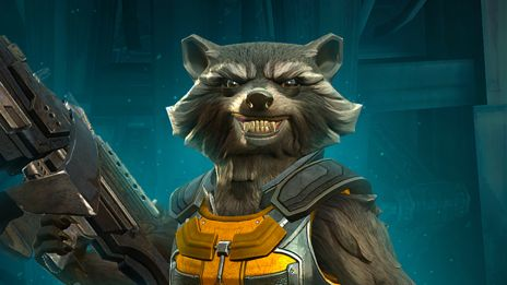 Recruit Rocket Raccoon