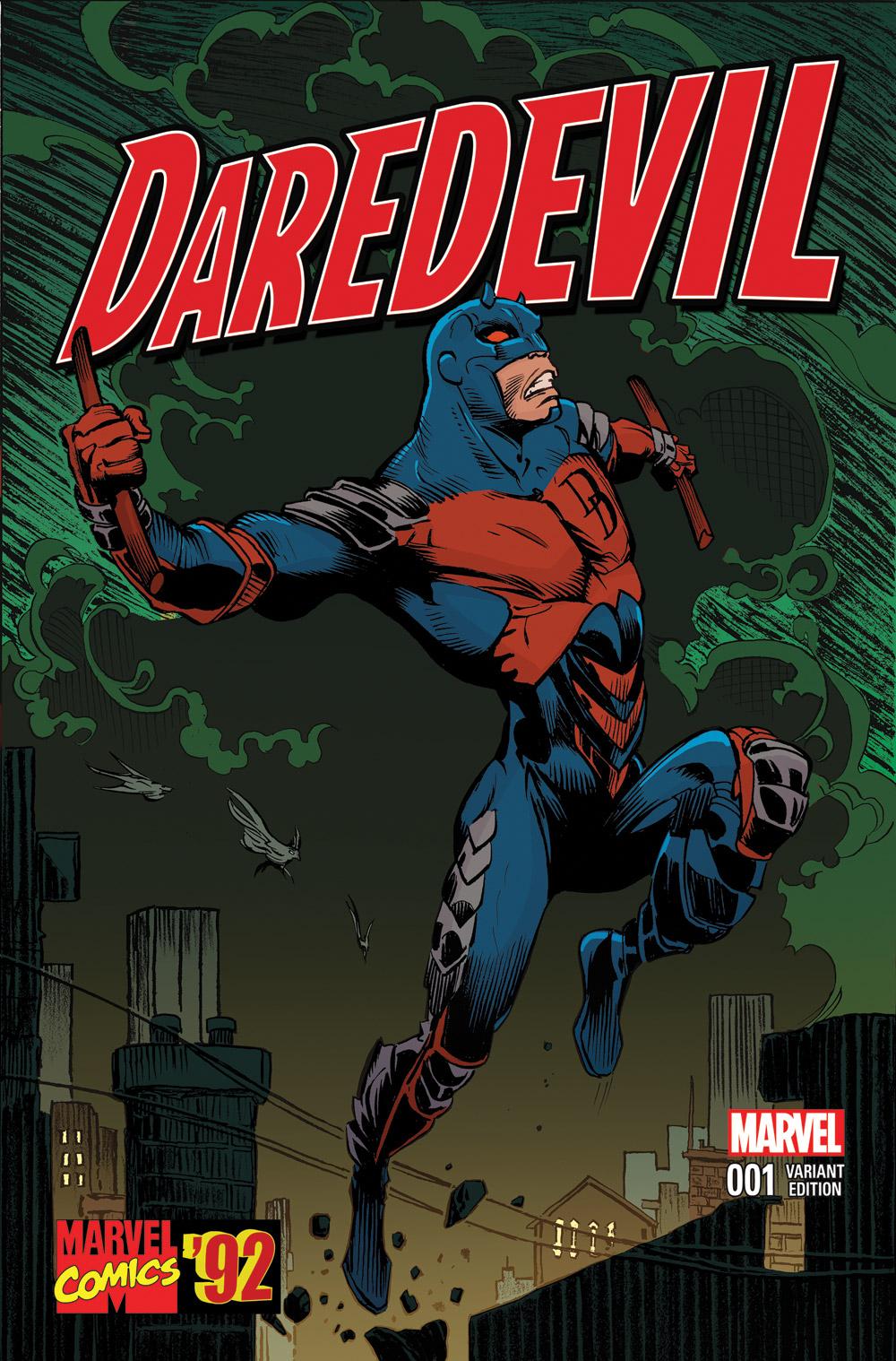Daredevil (2015) #1 (Stroman Marvel 92 Variant)