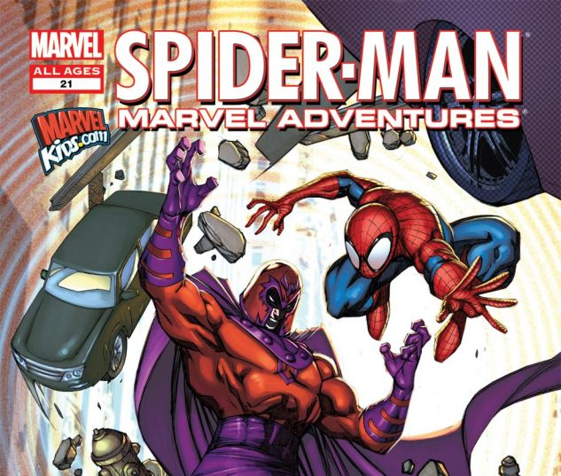 MARVEL ADVENTURES SPIDER-MAN (2010) #21 Cover