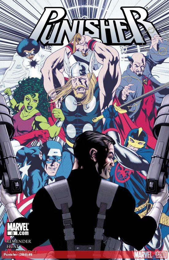 Punisher (2008) #8