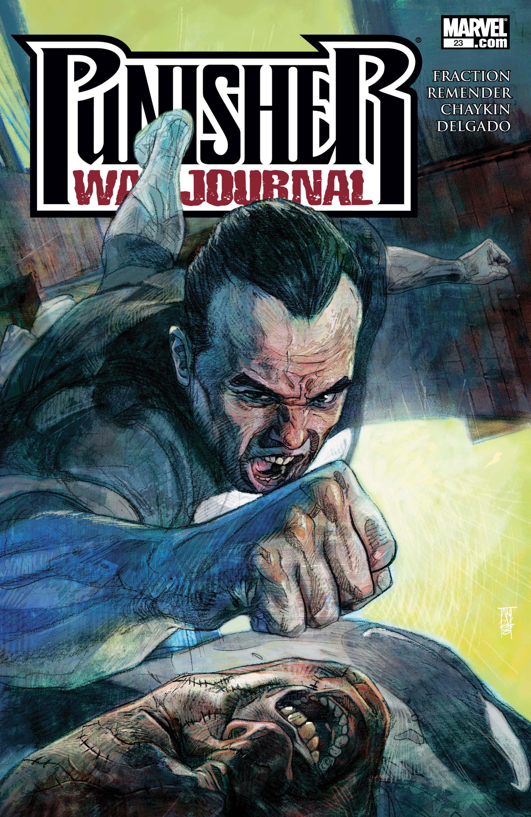 Punisher War Journal (2006) #23