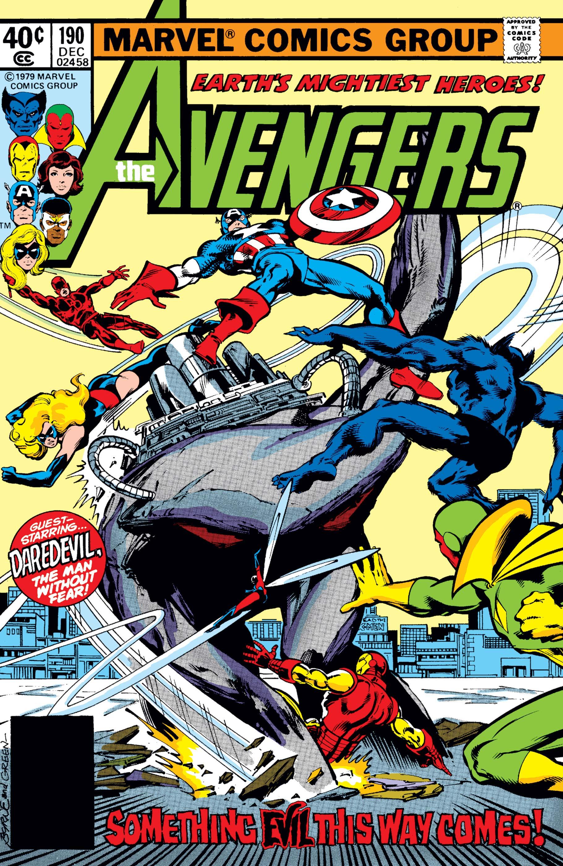 Avengers (1963) #190