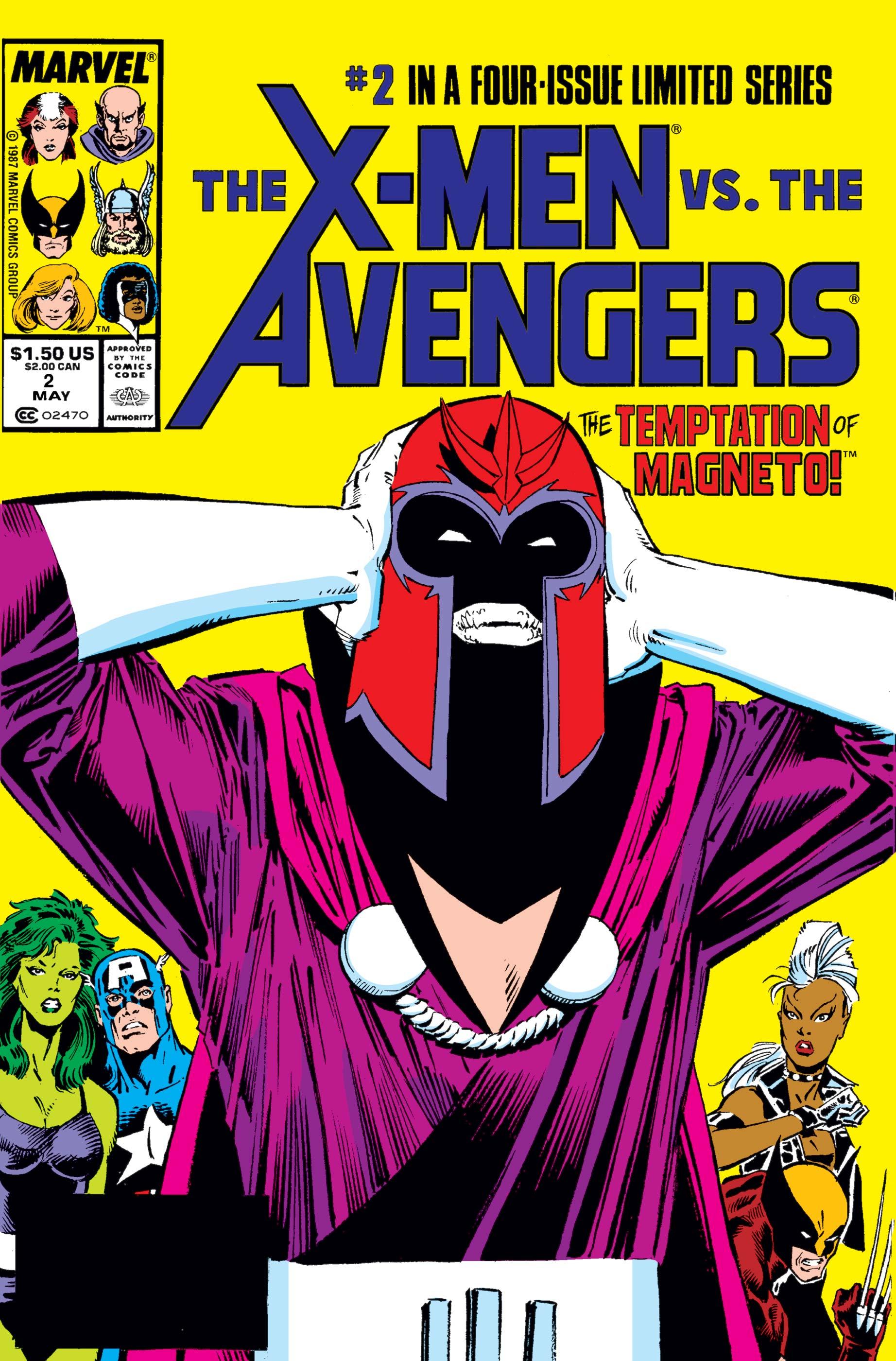 X-Men Vs. Avengers (1987) #2