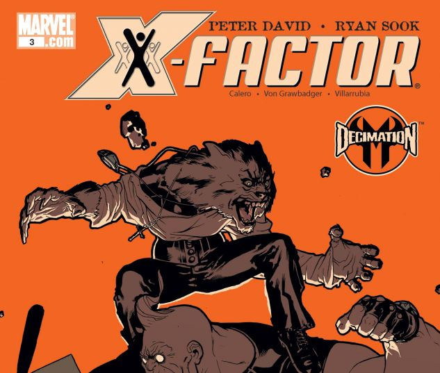 X-FACTOR (2005) #3