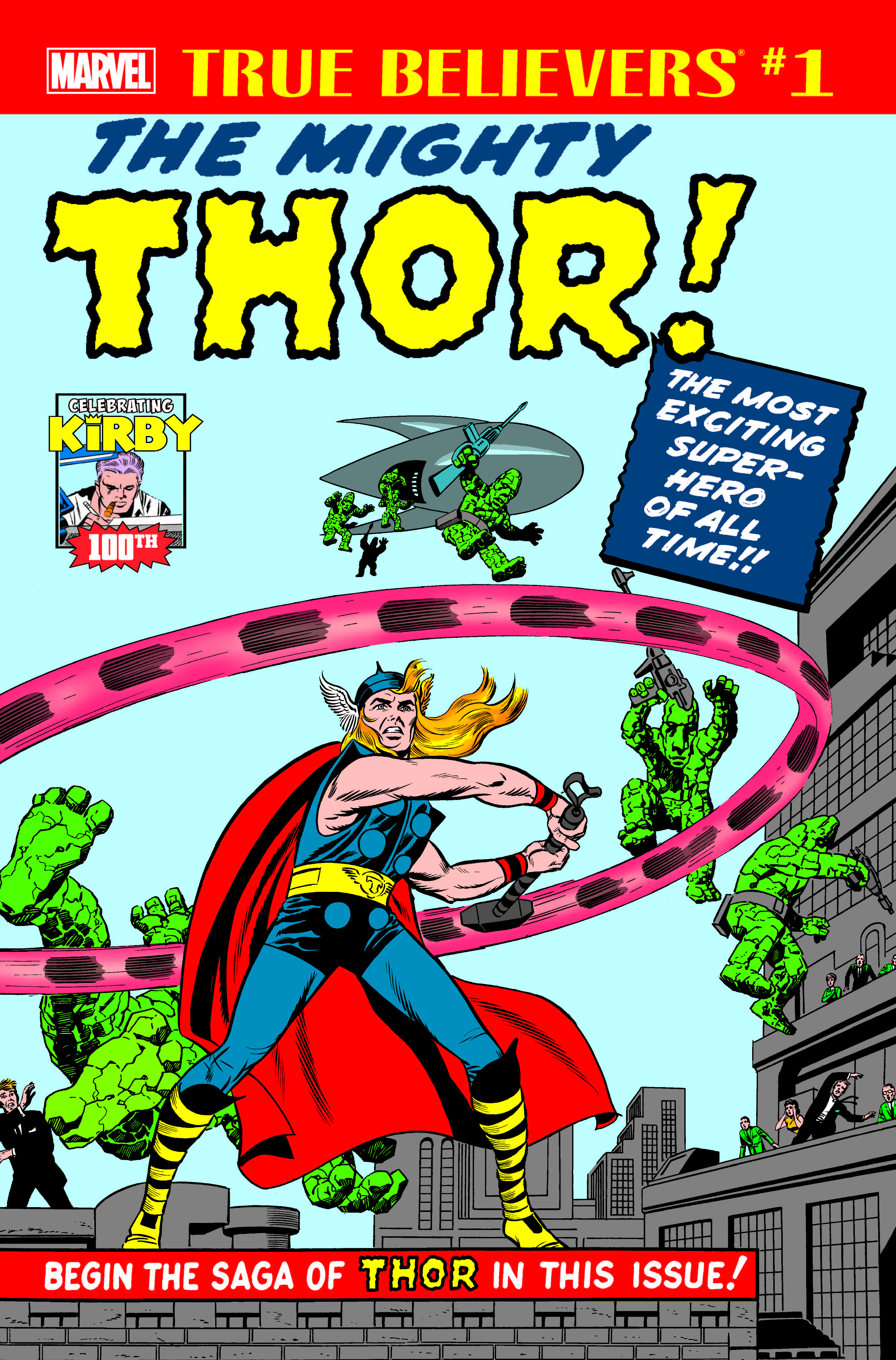 True Believers: Kirby 100th - Introducing...The Mighty Thor! (2017) #1
