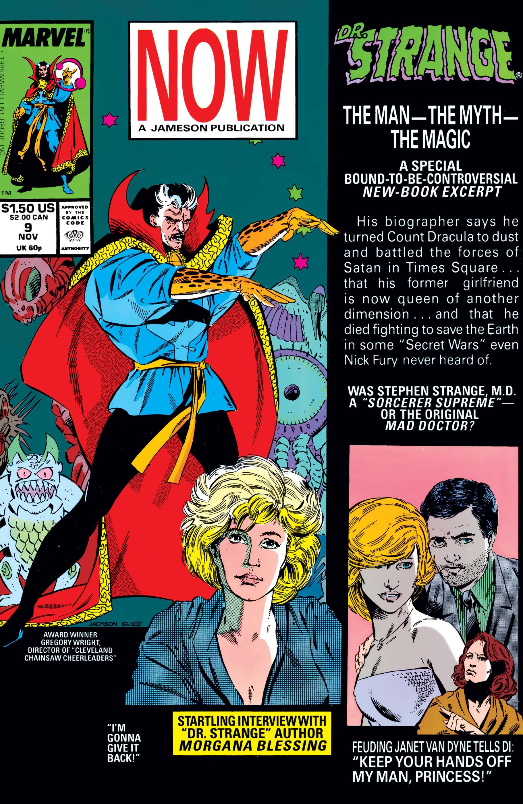 Doctor Strange, Sorcerer Supreme (1988) #9