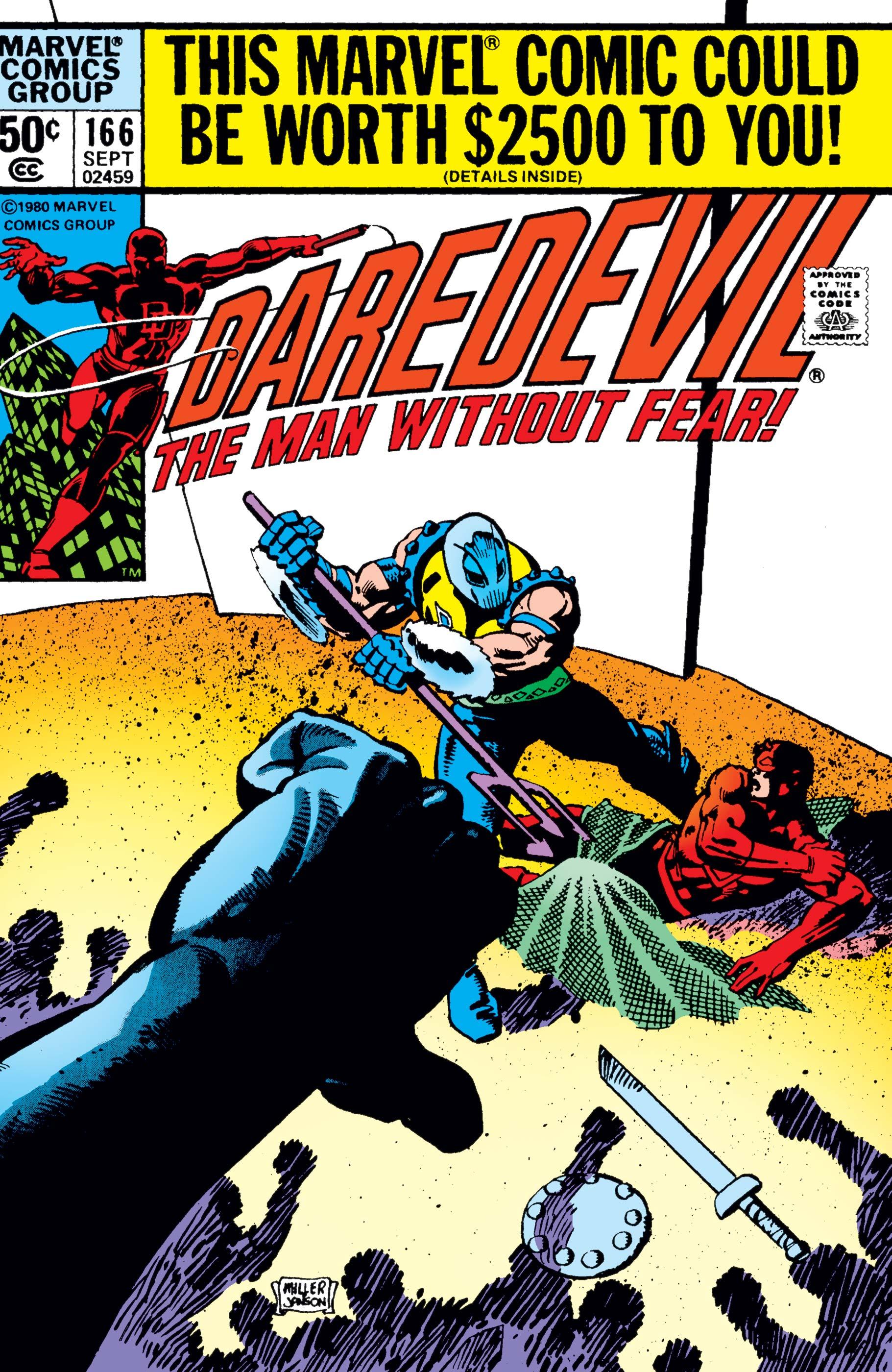 Daredevil (1964) #166