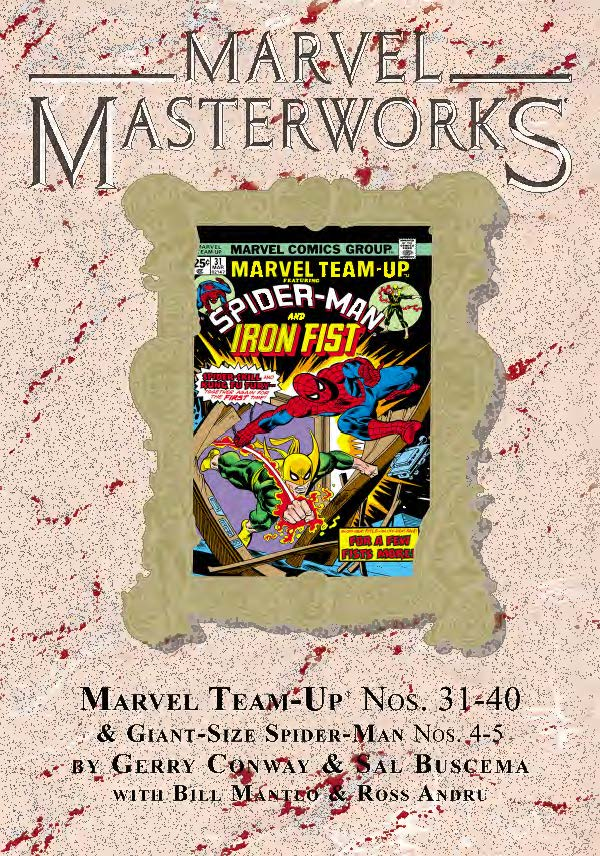 Marvel Masterworks: Marvel Team-Up Vol. 4 Variant (Hardcover)