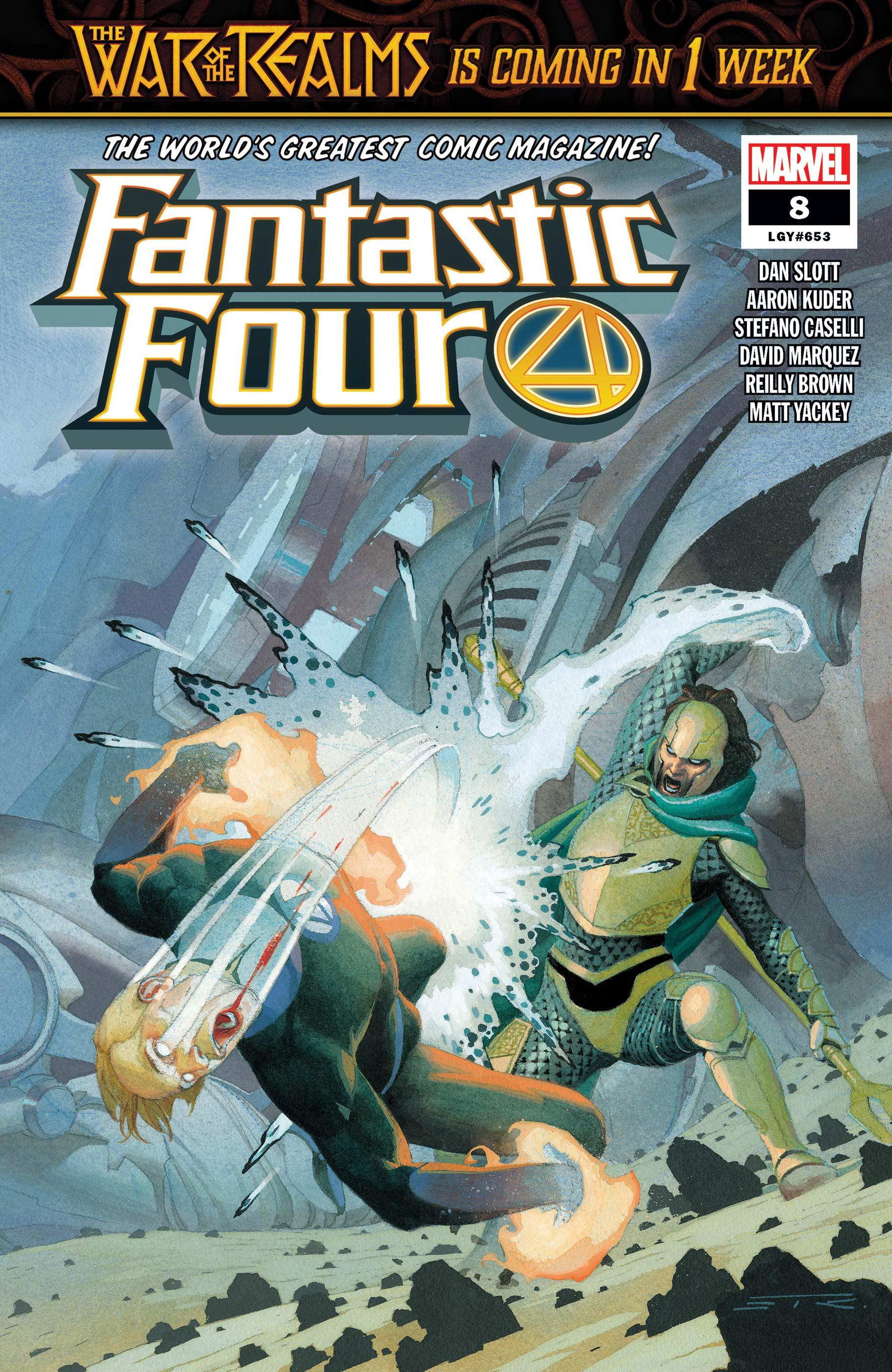 Fantastic Four (2018) #8