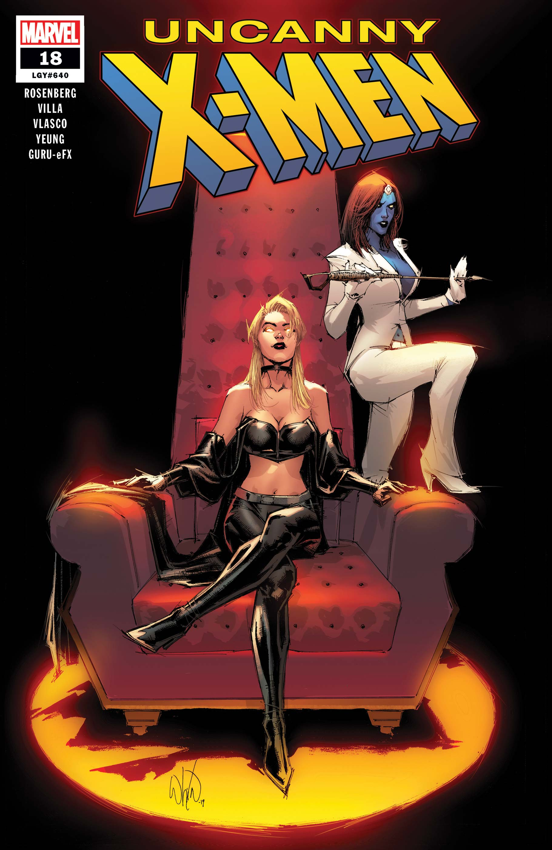 Uncanny X-Men (2018) #18