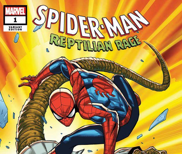 SPIDER-MAN: REPTILIAN RAGE 1 RON LIM VARIANT #1