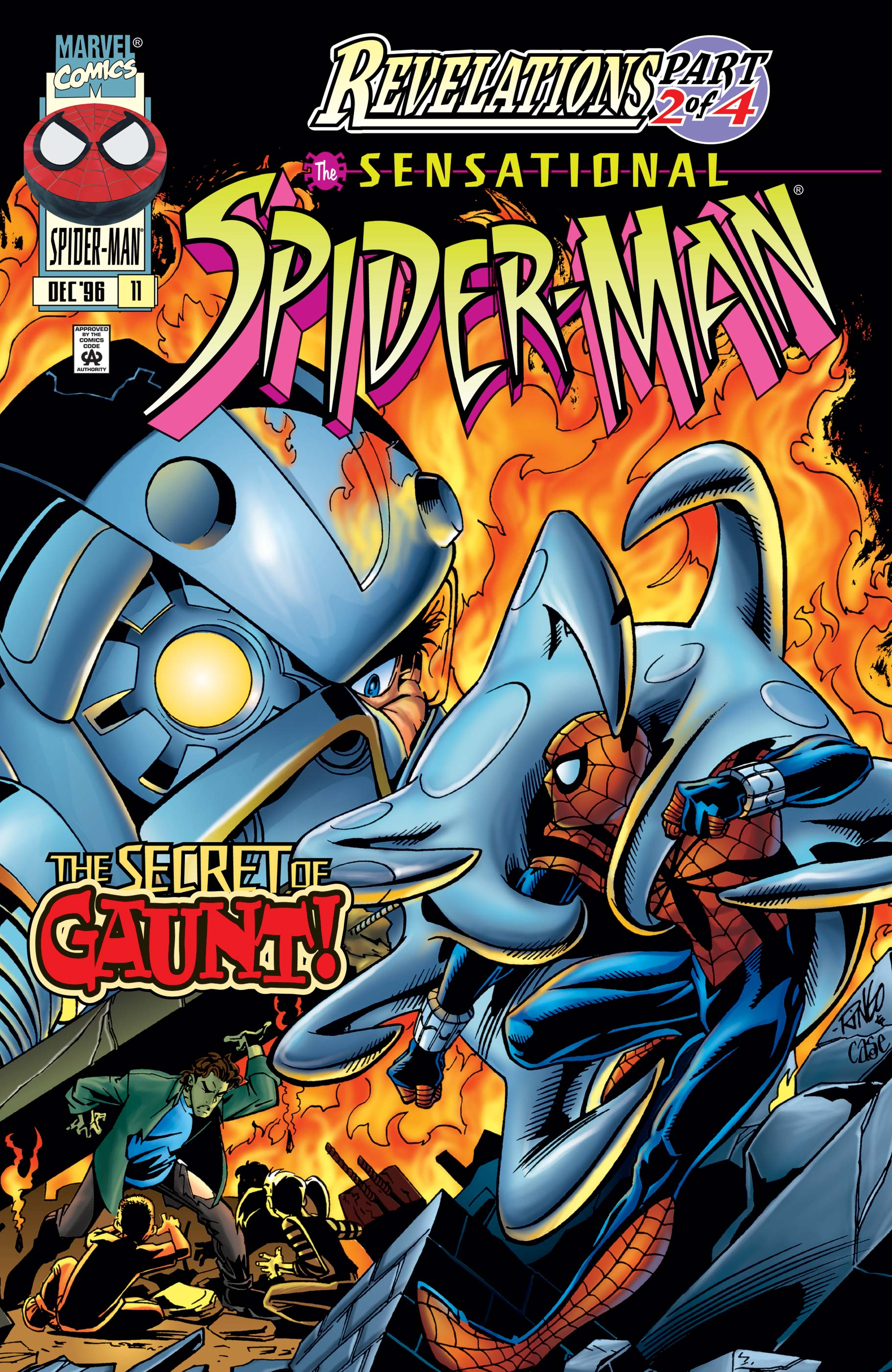 Sensational Spider-Man (1996) #11