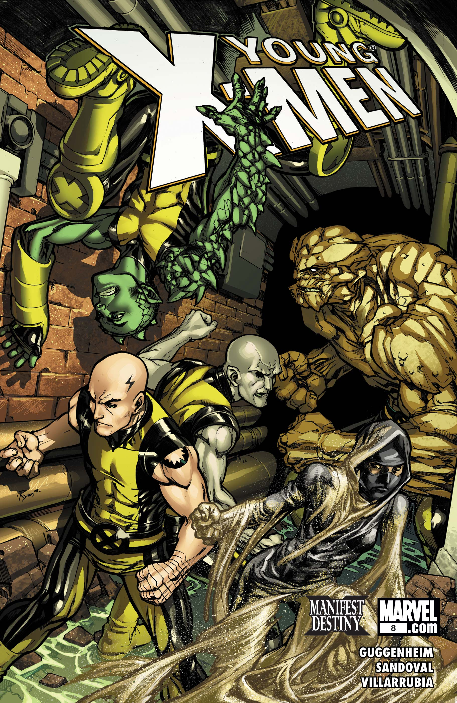 Young X-Men (2008) #8
