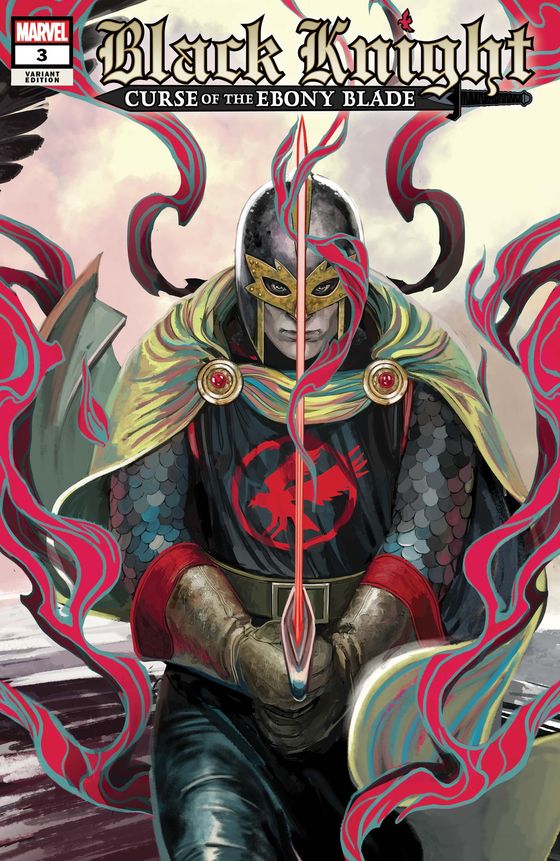 Black Knight: Curse of the Ebony Blade (2021) #3 (Variant)