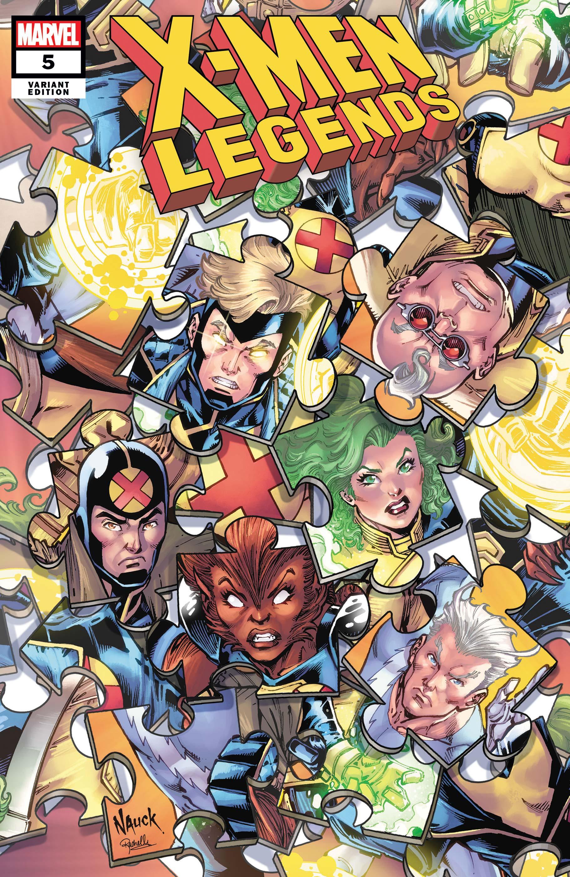 X-Men Legends (2021) #5 (Variant)