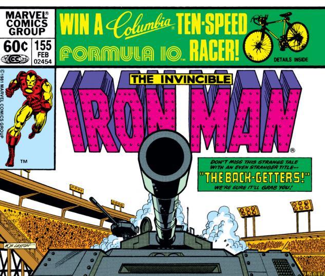 Iron Man (1968) #155 Cover