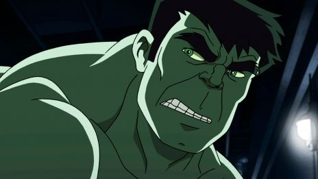 Hulk doesn't look amused in Marvel's Hulk and the Agents of S.M.A.S.H.