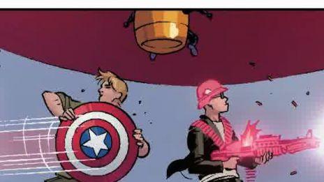 Marvel AR: A+X #5 Cover Recap