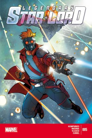 Legendary Star-Lord (2014) #5